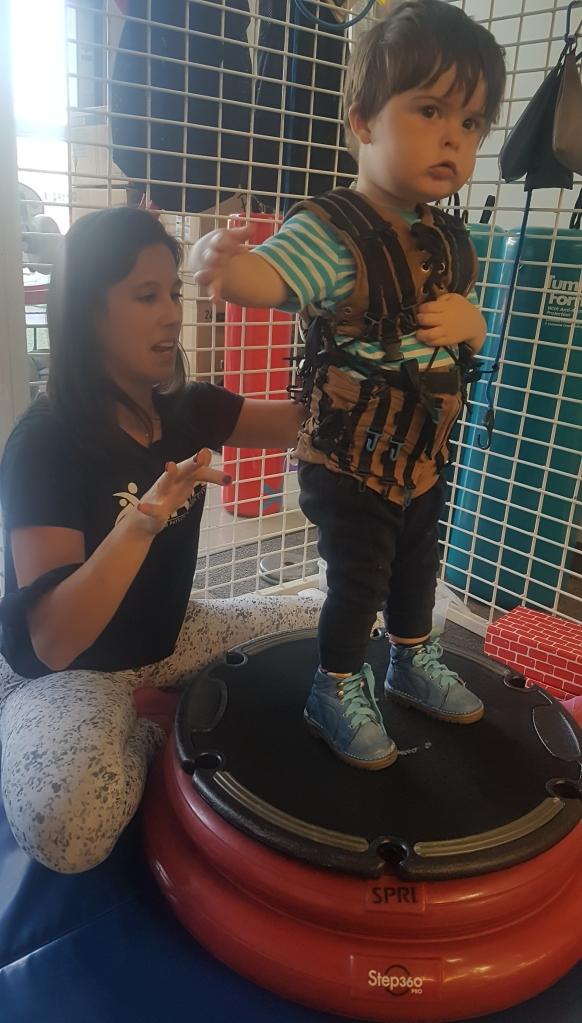 Neurosuit exercises with Lauren